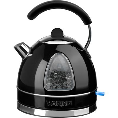 Waring WTK17BKU Kettle - Metallic Black Best Price, Cheapest Prices