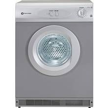 White Knight C44AS Vented Tumble Dryer - Silver Best Price, Cheapest Prices