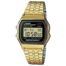 Casio Gold Stainless Steel Bracelet LCD Watch Best Price, Cheapest Prices