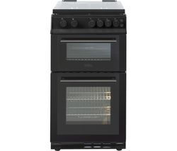 BELLING FS50GDOL 50 cm Gas Cooker - Black Best Price, Cheapest Prices
