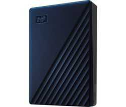 WD My Passport for Mac Portable Hard Drive - 4 TB, Midnight Blue Best Price, Cheapest Prices