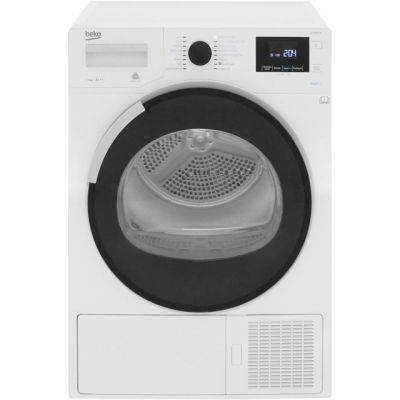 Beko DPHR8PB561W 8Kg Heat Pump Tumble Dryer - White - A+++ Rated Best Price, Cheapest Prices