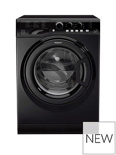 Hotpoint FML742K 7kg Load, 1400 Spin Washing Machine - Black Best Price, Cheapest Prices