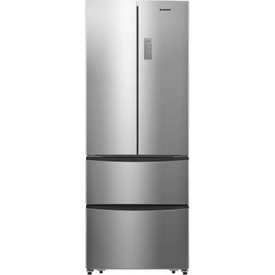 Hoover HMN7182XK/1 American Fridge Freezer - Stainless Steel - A+ Rated Best Price, Cheapest Prices