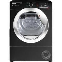 Hoover DXC10DCEB Dynamic Next Aquavision 10kg Freestanding Condenser Sensor Tumble Dryer - Black With Chrome Door Best Price, Cheapest Prices