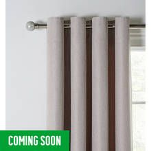 Argos Home Eyelet Basket Weave Curtains