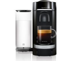 NESPRESSO by Magimix Vertuo Plus M600 Coffee Machine - Piano Black Best Price, Cheapest Prices