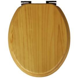 Argos Home Solid Wood Slow Close Toilet Seat Best Price, Cheapest Prices