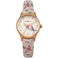 Cath Kidston Ladies Grey Faux Leather Strap Best Price, Cheapest Prices