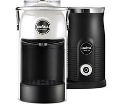 LAVAZZA Jolie & Milk Coffee Machine - White Best Price, Cheapest Prices