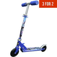 Zinc Blue Folding Inline Scooter Best Price, Cheapest Prices