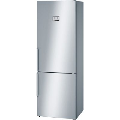 Bosch Serie 6 KGN49AI31 Wifi Connected 60/40 Frost Free Fridge Freezer - Stainless Steel Effect - A++ Rated Best Price, Cheapest Prices