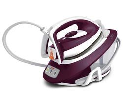 TEFAL Express Compact Anti-Scale SV7120 Steam Generator Iron - Purple & White Best Price, Cheapest Prices