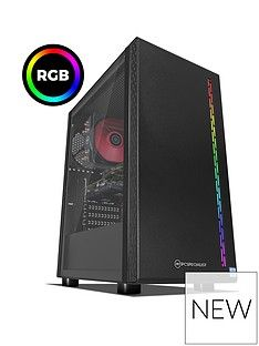 PC Specialist Stalker XT Intel Core i7, 16GB RAM,l 1TB Hard Drive & 256GB SSD, 6GB Nvidia Geforce GTX 1660 Ti Graphics, Gaming Desktop - Black Best Price, Cheapest Prices