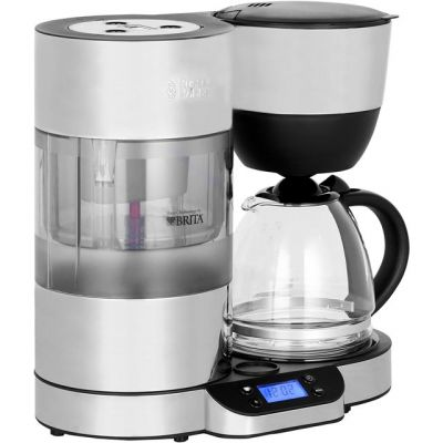 Russell Hobbs Purity 20770 Filter Coffee Machine with Timer - Silver / Black Best Price, Cheapest Prices