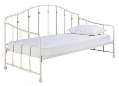 Argos Home Parisot White Day Bed Frame Best Price, Cheapest Prices