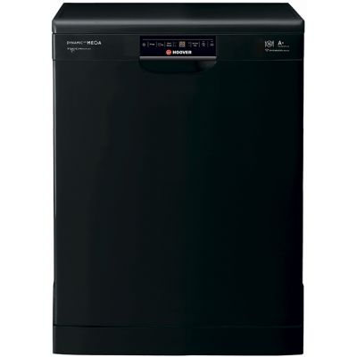 Hoover Dynamic Next Mega HDP1T64PW3B Standard Dishwasher - Black - A Rated Best Price, Cheapest Prices