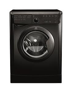 Indesit Ecotime IDVL75BRK.9 7kg Vented Sensor Tumble Dryer - Black Best Price, Cheapest Prices