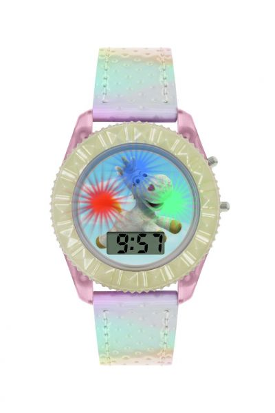 Disney Childrens Toy Story Unicorn White Plastic Strap Watch Best Price, Cheapest Prices