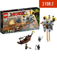 LEGO Ninjago Movie Flying Jelly Sub - 70610 Best Price, Cheapest Prices