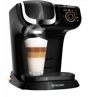 Tassimo by Bosch My Way 2 TAS6502GB Pod Coffee Machine - Black Best Price, Cheapest Prices