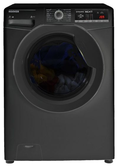 Hoover DWOAD 69HF3B 9KG 1600 Spin Washing Machine - Black Best Price, Cheapest Prices