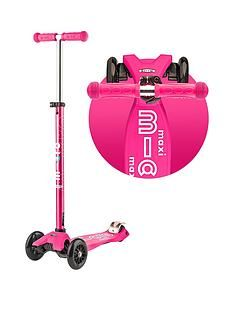 Micro Scooter Maxi Micro Deluxe – Pink Best Price, Cheapest Prices