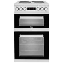 Beko KDV555AS Electric Cooker - Silver Best Price, Cheapest Prices