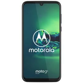 SIM Free Moto G8 Plus 64GB Mobile Phone - Blue Best Price, Cheapest Prices