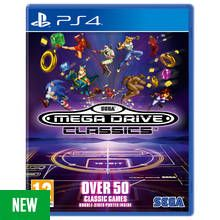 SEGA Mega Drive Classics PS4 Game Best Price, Cheapest Prices