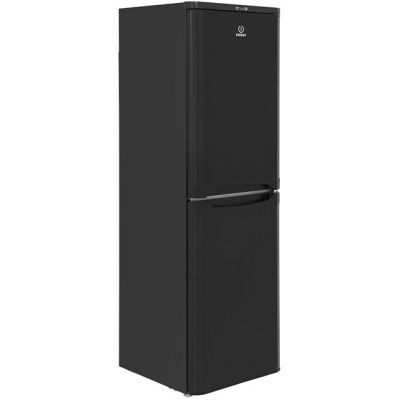 Indesit IBD5517B 50/50 Fridge Freezer - Black - A+ Rated Best Price, Cheapest Prices