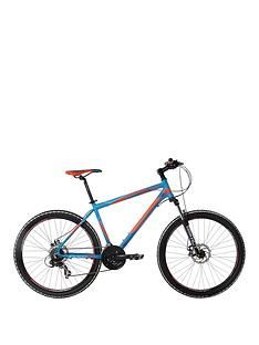 Indigo Descent Mens 21-Speed Dual Disc Mountain Bike 20 inch Frame Best Price, Cheapest Prices