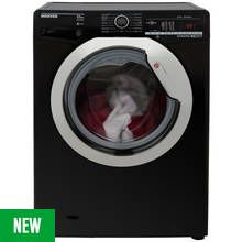 Hoover DXOA410C3B 10KG 1400 Spin Washing Machine - Black Best Price, Cheapest Prices