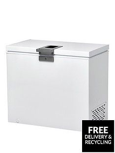 Hoover Hmch 302 El 300-Litre Chest Freezer - White Best Price, Cheapest Prices