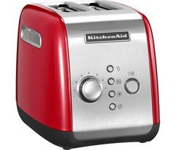 KITCHENAID 5KMT221BER 2-Slice Toaster - Empire Red Best Price, Cheapest Prices