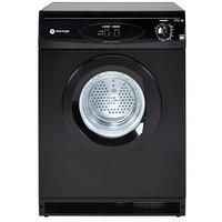 White Knight C44A7B 7kg Freestanding Vented Tumble Dryer - Black Best Price, Cheapest Prices