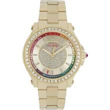 Juicy Couture Ladies' Pedigree Multi Stone Bracelet Watch Best Price, Cheapest Prices