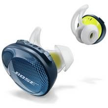 Bose SoundSport Free Wireless In-Ear Headphones - Blue Best Price, Cheapest Prices