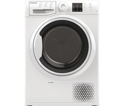 HOTPOINT NT M10 81WK UK 8 kg Heat Pump Tumble Dryer - White Best Price, Cheapest Prices