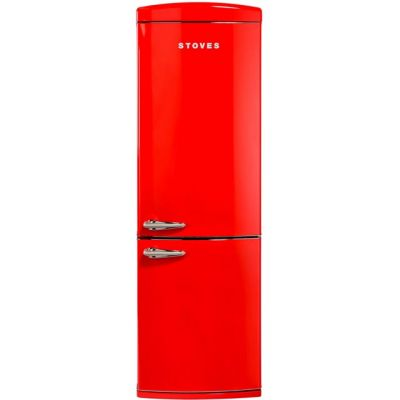 Stoves Retro STR 60197R 70/30 Frost Free Fridge Freezer - Red - A+ Rated Best Price, Cheapest Prices