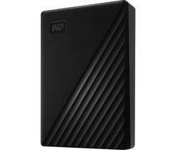 WD My Passport Portable Hard Drive - 5 TB, Black Best Price, Cheapest Prices