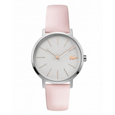 Lacoste Ladies Pink Leather Strap Watch Best Price, Cheapest Prices