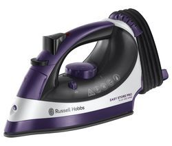 RUSSELL HOBBS Easy Store Pro Plug & Wind 23780 Steam Iron - Purple & White Best Price, Cheapest Prices