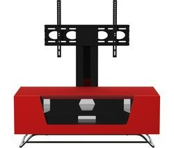 ALPHASON Chromium 2 Cantilever CRO2-1000BKT-RE 1000 mm TV Stand with Bracket - Red Best Price, Cheapest Prices