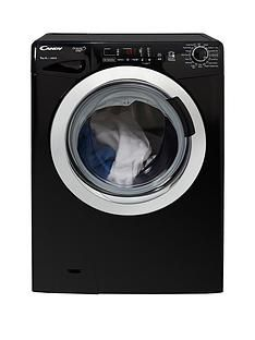 Candy Grand'O VitaGVS169DC3B9kgLoad,1600 Spin Washing Machine with Smart Touch - Black/Chrome Best Price, Cheapest Prices
