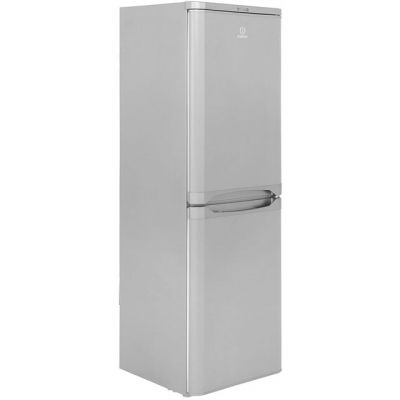 Indesit IBD5517S 50/50 Fridge Freezer - Silver - A+ Rated Best Price, Cheapest Prices