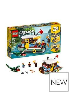 LEGO Creator 31093Riverside Houseboat Best Price, Cheapest Prices
