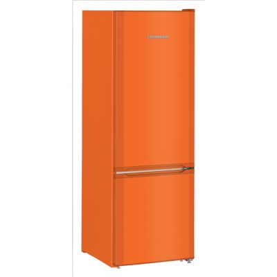 Liebherr CUno2831 70/30 Frost Free Fridge Freezer - Orange - A++ Rated Best Price, Cheapest Prices