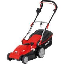 Grizzly Tools 37cm Corded Rotary Lawnmower - 1600W Best Price, Cheapest Prices