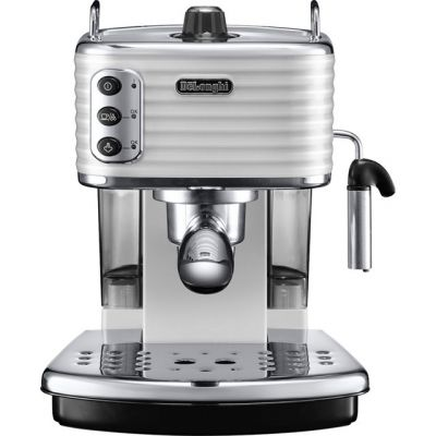 De'Longhi Scultura ECZ351.W Espresso Coffee Machine - White Best Price, Cheapest Prices